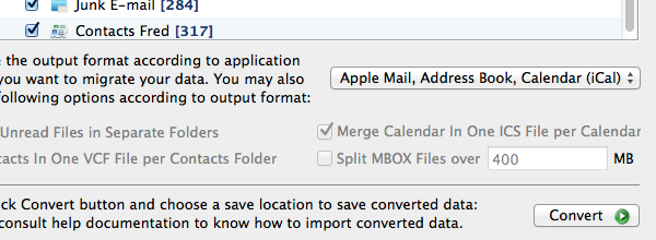 Add Microsoft Outlook Emails to Apple Mail
