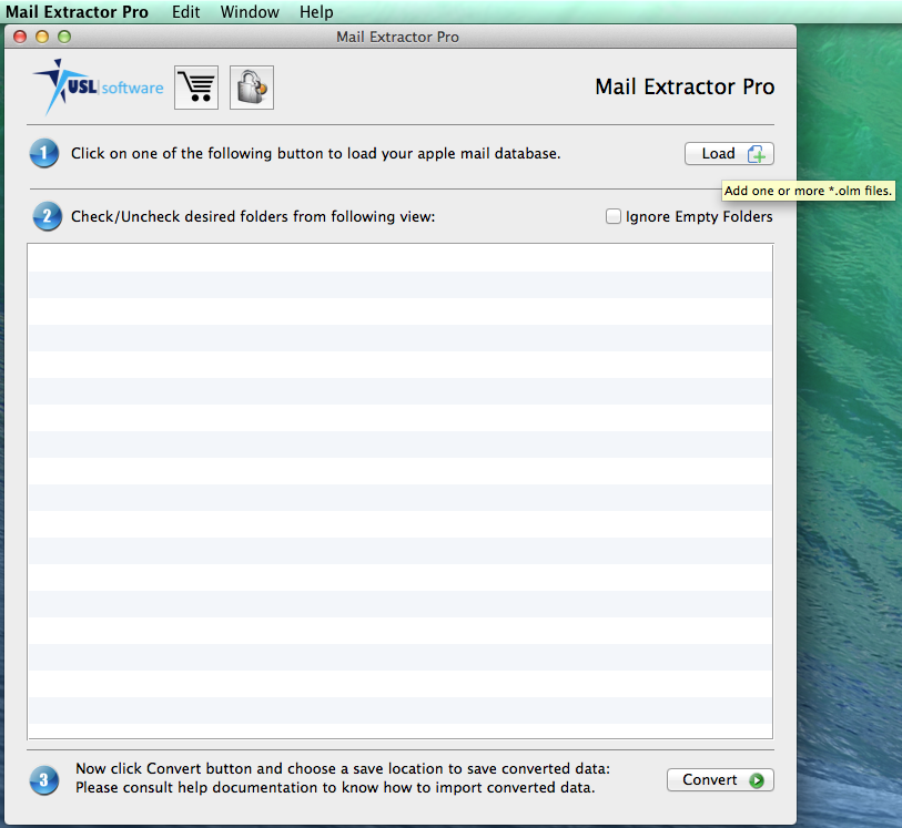 "Convert Mac Mail to Pst Free Trial ""Mail Extractor Pro"""