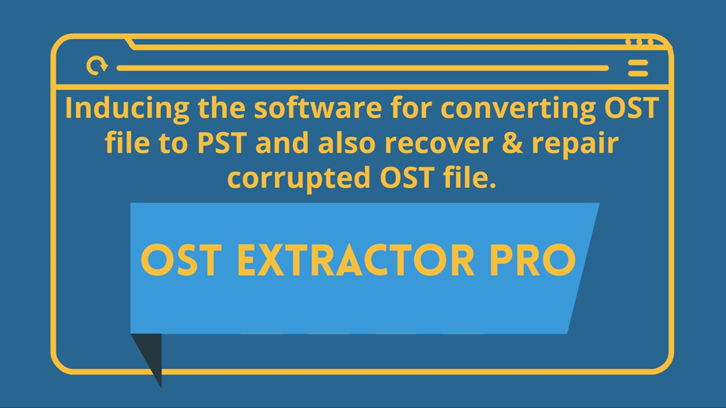 OST to PST Converter for converting OST files into PST (Outlook 2016, 2013….)