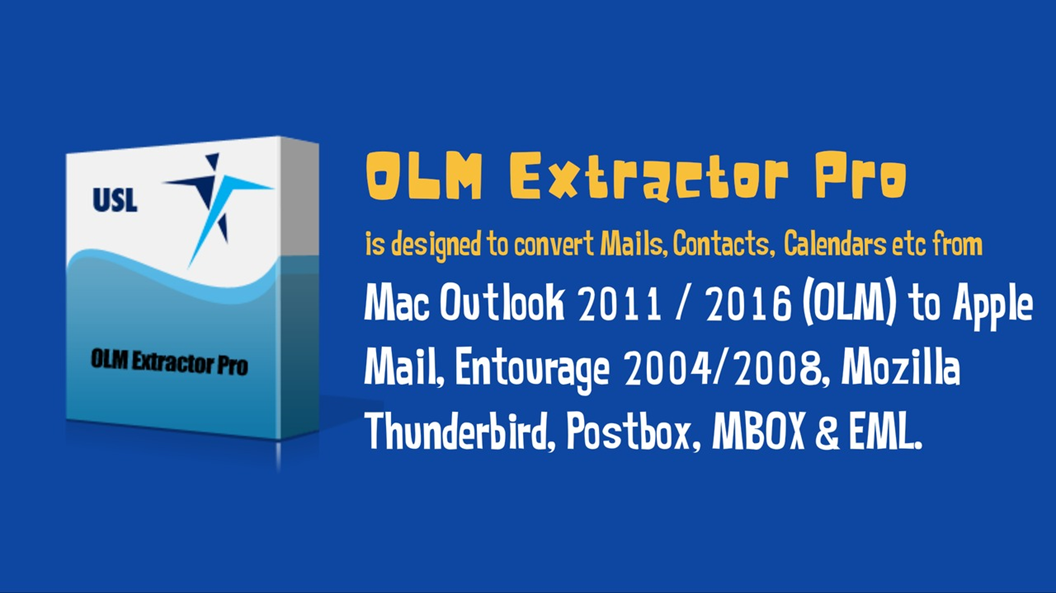 Transfer .OLM to Mac Mail