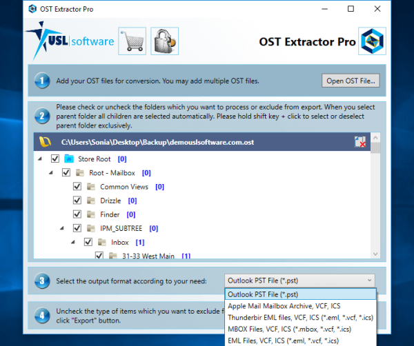 freeware tool to convert ost to pst