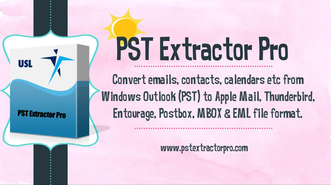 "Export PST to MBOX Free Using ""PST Extractor Pro"""