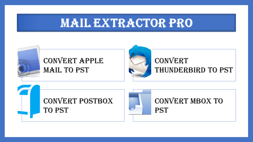 Export Thunderbird to Outlook PST