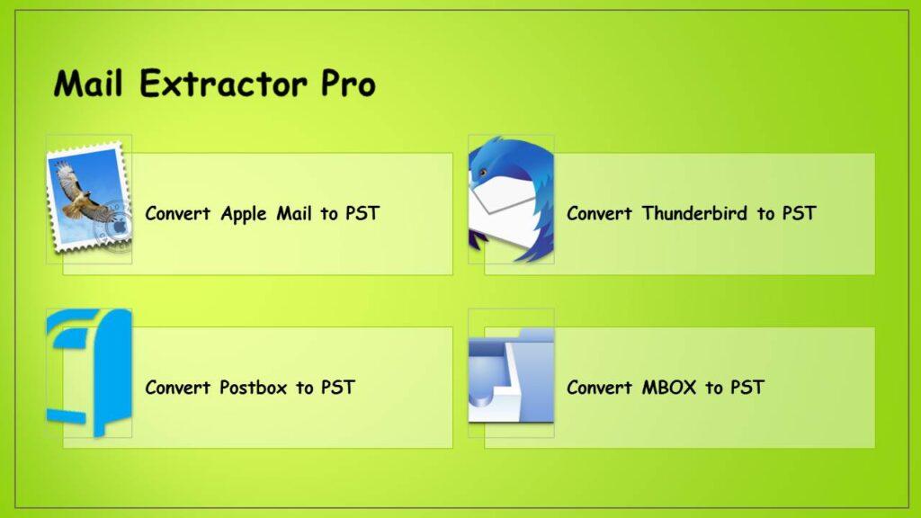 convert MBOX to PST Mac